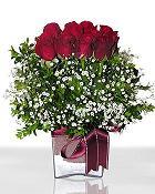 Rize çiçek mağazası , çiçekçi adresleri  11 adet gül mika yada cam - anneler günü seçimi -