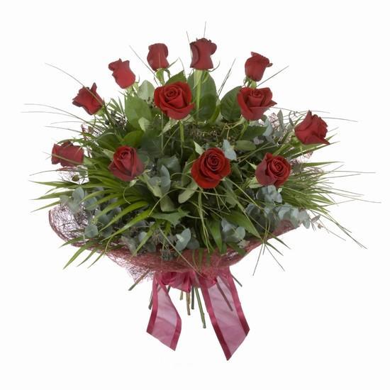 Etkileyici buket 11 adet kirmizi gül buketi  Rize çiçek yolla , çiçek gönder , çiçekçi