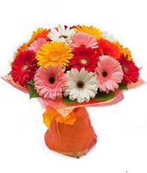Renkli gerbera buketi  Rize hediye çiçek yolla