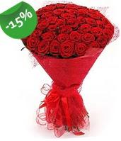 51 adet kırmızı gül buketi özel hissedenlere  Rize online çiçekçi , çiçek siparişi