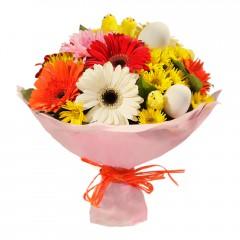 Karışık mevsim buketi Mevsimsel çiçek  Rize çiçek gönderme sitemiz güvenlidir