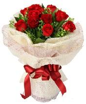 12 adet kırmızı gül buketi  Rize hediye çiçek yolla