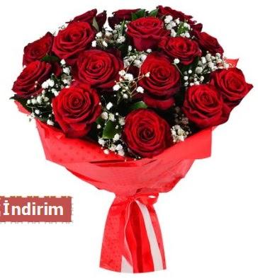 12 Adet kırmızı aşk gülleri  Rize çiçek servisi , çiçekçi adresleri