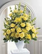 Rize online çiçekçi , çiçek siparişi  sari güllerden sebboy tanzim çiçek siparisi