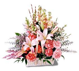 Rize online çiçekçi , çiçek siparişi  mevsim çiçekleri sepeti özel tanzim