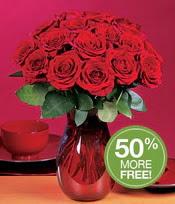 Rize 14 şubat sevgililer günü çiçek  10 adet Vazoda Gül çiçek ideal seçim