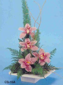 Rize çiçek online çiçek siparişi  vazoda 4 adet orkide