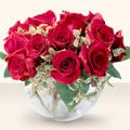 Rize çiçek siparişi sitesi  mika yada cam içerisinde 10 gül - sevenler için ideal seçim -