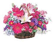 küçük karisik özel sepet   Rize çiçek siparişi sitesi