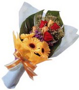 güller ve gerbera çiçekleri   Rize 14 şubat sevgililer günü çiçek