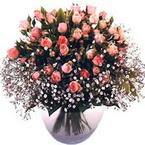 büyük cam fanusta güller   Rize anneler günü çiçek yolla