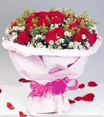 Rize çiçek yolla , çiçek gönder , çiçekçi   12 ADET KIRMIZI GÜL BUKETI