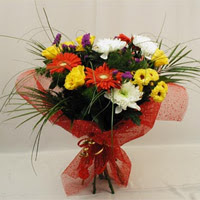 Rize güvenli kaliteli hızlı çiçek  Karisik mevsim demeti