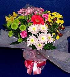 Rize güvenli kaliteli hızlı çiçek  küçük karisik mevsim demeti