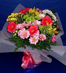 karisik sade mevsim demetligi   Rize ucuz çiçek gönder