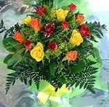 13 adet karisik gül buketi demeti   Rize çiçek , çiçekçi , çiçekçilik