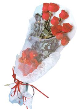 11 adet kirmizi güller buket tanzimi   Rize online çiçekçi , çiçek siparişi