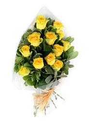 Rize çiçek siparişi vermek  12 li sari gül buketi.