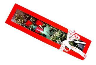 Rize güvenli kaliteli hızlı çiçek  Kutuda 3 adet gül