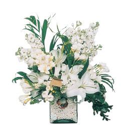 Rize çiçek gönderme sitemiz güvenlidir  sadece beyazlardan olusmus mevsim cam yada mika tanzim
