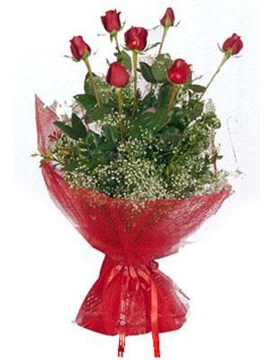 Rize internetten çiçek satışı  7 adet gülden buket görsel sik sadelik