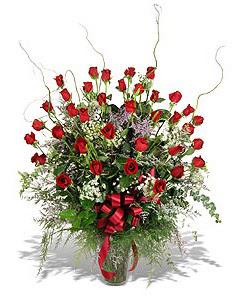 Rize online çiçekçi , çiçek siparişi  33 adet kirmizi gül vazo içerisinde