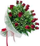 Rize çiçek yolla , çiçek gönder , çiçekçi   11 adet kirmizi gül buketi sade ve hos sevenler