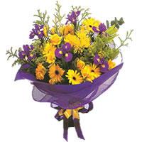 Rize 14 şubat sevgililer günü çiçek  Karisik mevsim demeti karisik çiçekler