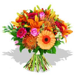 Rize çiçek online çiçek siparişi  Karisik kir çiçeklerinden görsel demet