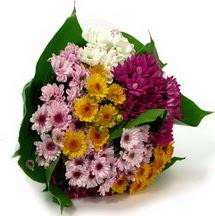 Rize çiçek online çiçek siparişi  Karisik kir çiçekleri demeti herkeze