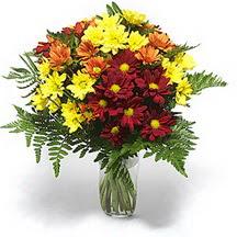Rize online çiçekçi , çiçek siparişi  Karisik çiçeklerden mevsim vazosu