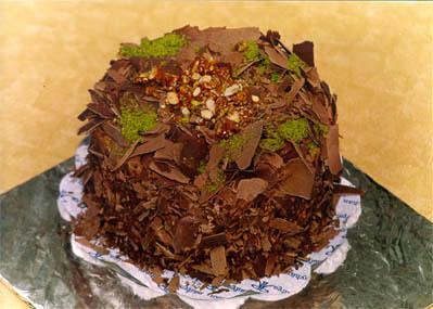 Çikolatali 4 ila 6 kisilik yas pasta  Rize 14 şubat sevgililer günü çiçek