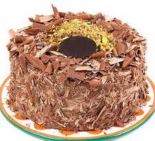 çikolatali 4 ile 6 kisilik yas pasta  Rize internetten çiçek satışı