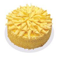 Muzlu pasta 4 ile 6 kisilik yas pasta  Rize çiçek online çiçek siparişi