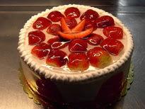 Meyvali yas pasta 4 ile 6 kisilik pasta  Rize online çiçekçi , çiçek siparişi