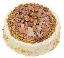 Karamelli 4 ile 6 kisilik yas pasta  Rize anneler günü çiçek yolla