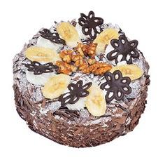 Muzlu çikolatali yas pasta 4 ile 6 kisilik   Rize çiçek , çiçekçi , çiçekçilik