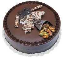 Çikolatali yas pasta 4 ile 6 kisilik  leziz  Rize çiçekçiler