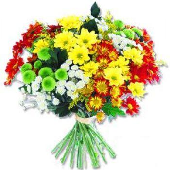 Kir çiçeklerinden buket modeli  Rize çiçek gönderme