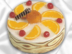 lezzetli pasta satisi 4 ile 6 kisilik yas pasta portakalli pasta  Rize yurtiçi ve yurtdışı çiçek siparişi