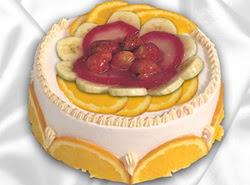 leziz pastane 4 ile 6 kisilik yas pasta meyvali yaspasta  Rize internetten çiçek siparişi