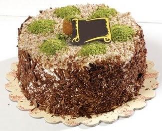 pasta gönderme 4 ile 6 kisilik çikolatali yas pasta  Rize çiçek servisi , çiçekçi adresleri
