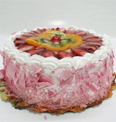 görsel pastacilar 4 ile 6 kisilik yas pasta karisik meyvali  Rize çiçek siparişi sitesi