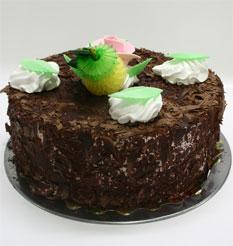4 ile 6 kisilik yas pasta çikolatali leziz pastane ürünü  Rize çiçek satışı