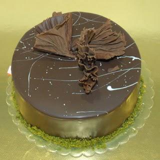 pastaci ustamizdan 4 ile 6 kisilik fistikli çikolatali yaspasta  Rize internetten çiçek satışı