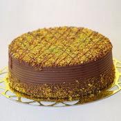 sanatsal pastaci 4 ile 6 kisilik krokan çikolatali yas pasta  Rize çiçekçi telefonları