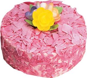 pasta siparisi 4 ile 6 kisilik framboazli yas pasta  Rize anneler günü çiçek yolla