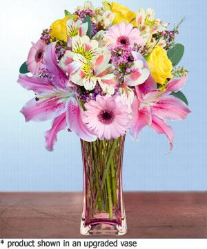 Anneme hediye karisik cam mevsim demeti  Rize çiçek gönderme sitemiz güvenlidir