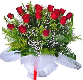 11 adet gösterisli kirmizi gül buketi  Rize çiçek yolla , çiçek gönder , çiçekçi