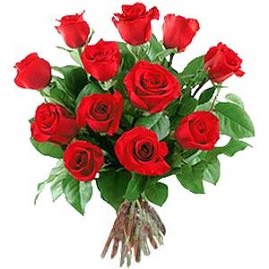 11 adet bakara kirmizi gül buketi  Rize çiçek siparişi vermek